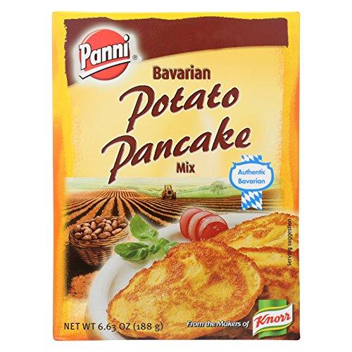 Panni Bavarian Potato Pancake Mix - Case of 24 - 6.63 oz. by Panni