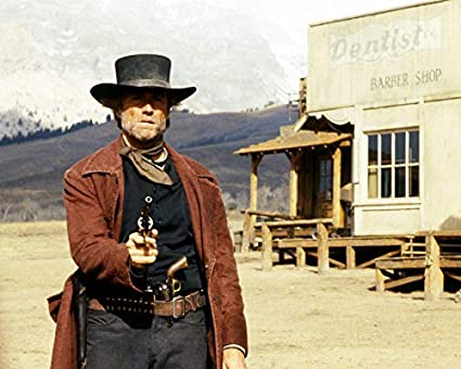 Amazon.com  Pale Rider Clint Eastwood 8 x 10 Fuji Film Photo  Everything  Else a2507fe663d