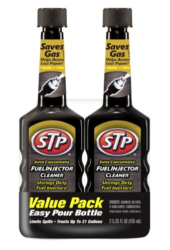 STP Super Concentrated Fuel Injector Cleaner (5.25 fl. oz.) (2 pack)