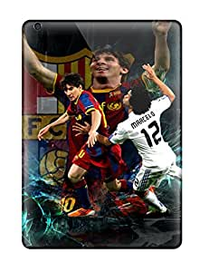ZippyDoritEduard Case Cover For Ipad Air - Retailer Packaging Lionel Messi Background Protective Case