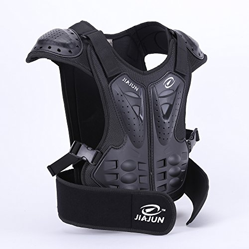 JIAJUN Children Bicycle Motorcycle Armor Armor Vest Back Protection Cycling Skiing Riding Skateboarding by JIAJUN