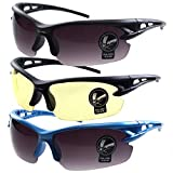 3 PRS Southern Seas Adults Unisex Cycling Sports Biking Fishing UV Protection Sunglasses Glasses Review