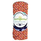 bumGenius Reusable Diaper Pail Liner - 26 x 30 - Fits Most Pails - Little House in The Big Woods Collection (Prairie Flowers)