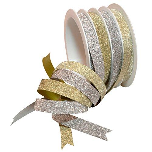 Morex Ribbon 84185 1 4 Channel Glitter