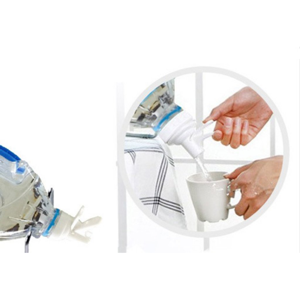 Homyl Bouton Remplacement Robinet Distribution DEau en Plastique Support de Bouteille 5L