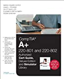 img - for CompTIA A+ 220-801 and 220-802 Cert Guide, Deluxe Edition and Simulator Bundle book / textbook / text book