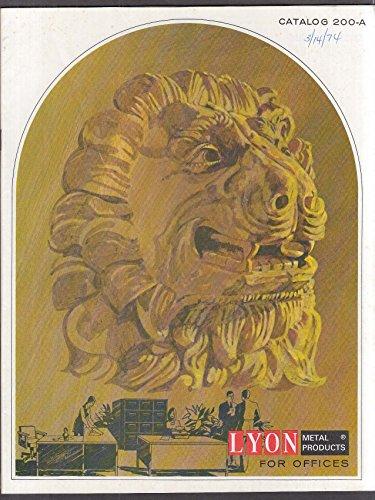 Lyon Metal Products Office Furniture Catalog 1973 (Metal Lyon)