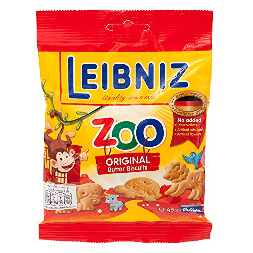 Bahlsen Butter (Bahlsen Leibniz Zoo Butter Biscuits For Children (125g , 4pcs) By Thaidd)
