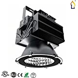 (2 Pack) UL DLC 2016 new Fin Type High Bay Lights 400W LED Flood Lighting SMD3030 high bay Light Mining Lamp 60/90 lens beam angle cover 3000K/4000/5000K 5 years warranty