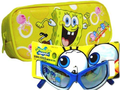 Sponge Bob Sun Glasses and Case Set for Kids -