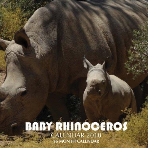 Download Baby Rhinoceros Calendar 2018: 16 Month Calendar pdf epub