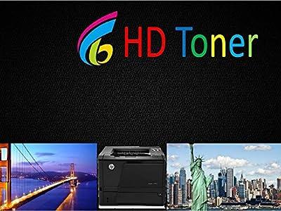 HD® Toner 4pk (one of each color) 131A CF210A CF211A CF212A 213A Toner For HP Laserjet Pro 200 M251nw M276nw