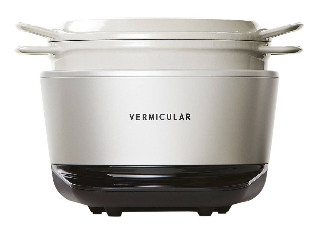 ''Vermicular Rice pot'' RP23A-WH (Japan Domestic genuine products) AC:100