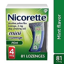 Mini Nicorette Nicotine Lozenge Stop Smo...