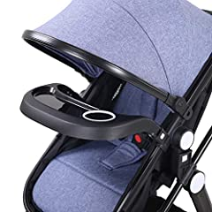 COMFORT & SAFETY & FEATURE High view infant pushchair is the perfect choice for parents who want their baby comfort and safe. Widened bassinet, multi-position seat, fully adjustable canopy and handlebar, easy installation and collapse...