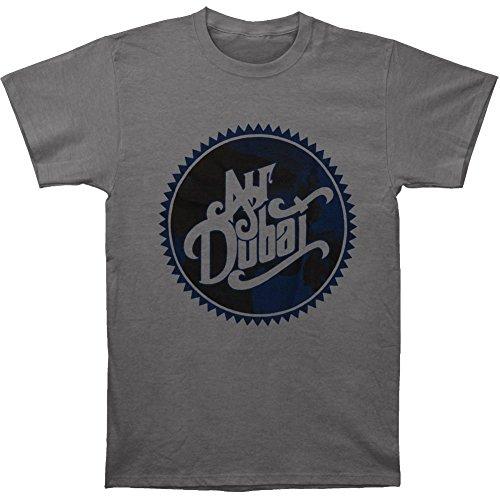 Air Dubai Men's Ribbon Logo T-shirt Large Grey