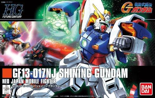 Bandai #127 Shining Gundam 1/144 High Grade Future - Gundam G