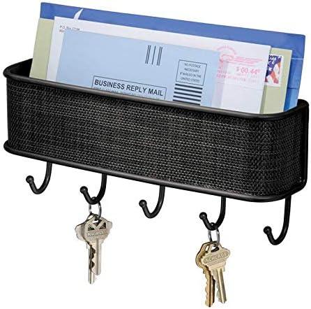Key Holder Wall Wall Hook Folk Pure Manual Vintage Design Graceful Letter Holder Key Rack Organizer Home Decor
