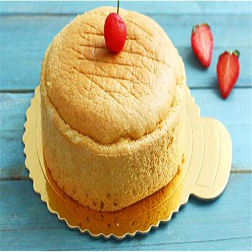 Meoliny Round Cake Boards Portable Cardboard Scalloped Cake Circle Base for Cook,10.83 9.84inch by Meoliny (Image #3)
