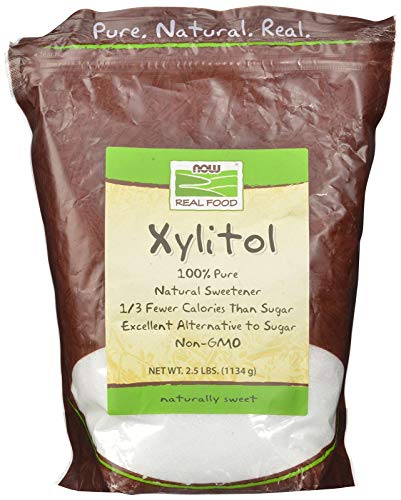 NOW Foods Xylitol, 2.5-Pound