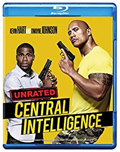 Cover Image for 'Central Intelligence (Blu-ray)'