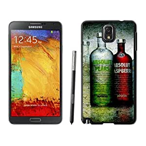 New Beautiful Custom Designed Cover Case For Samsung Galaxy Note 3 N900A N900V N900P N900T With Vodka Absolut Phone Case