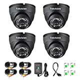 Tekvision 720P Surveillance Outdoor Waterproof Home Security HD Night Vision Dome Camera kit For AHD 720P/1080 DVR (Not Compatible With Old 960H DVR System) Review