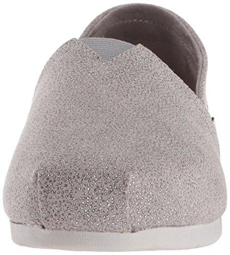 Dot Women's Bobs Flat Ballet Sparkle Skechers Gray Luxe Light 5UqxdIqw