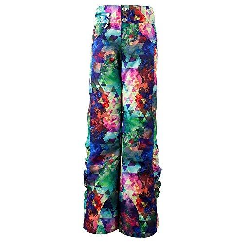 Obermeyer Kids Girl's Jessi Pants (Little Kids/Big Kids) Fractal Floral Medium by Obermeyer Kids
