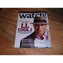CBS Watch Magazine, December 2009 issue, Volume 4, Issue 6-L L Cool J-star of NCIS Los Angeles.
