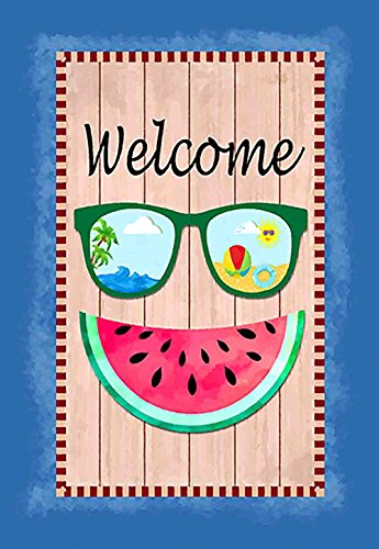 Morigins Welcome Summer Double Sided Sunglasses Watermelon H