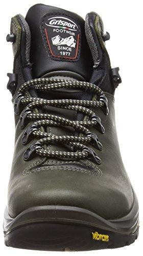 Grisport Saracen, Zapatos de High Rise Senderismo Unisex Adulto Verde (Green)