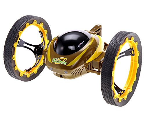 PowerTRC® Jumping Robotic Car w/GYRO 2.4Ghz Remote (Yellow)