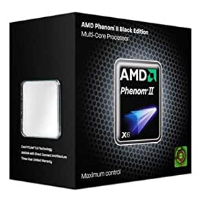 AMD HDE00ZFBGRBOX - Procesador CPU AMD Phenom II X6 1100T 3,3 GHz, color negro
