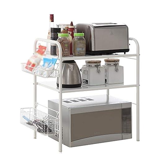LIANGJUN - Estante de Almacenamiento para microondas de Cocina ...