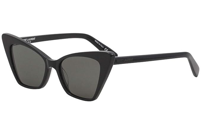 Gafas de Sol Saint Laurent SL 244 VICTOIRE BLACK/GREY mujer ...