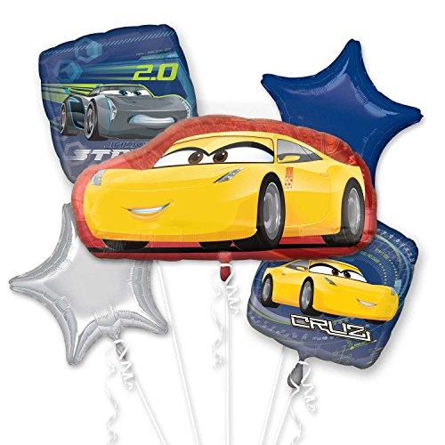 Anagram Disney Cars 3 Cruz Jackson Bouquet of Balloons ()