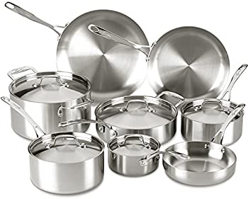 Lagostina Axia Tri-Ply Stainless Steel 13-Piece Cookware Set