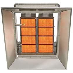 SunStar Heating Products Infrared Ceramic Heater - LP, 65,000 BTU, Model Number SG6-L