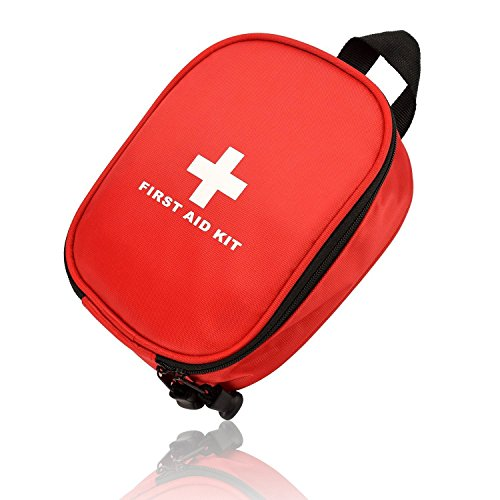 2 Pack First Aid Kit (120 Piece): Compact for Emergency at Home, Outdoors, Car, Camping, Workplace, Hiking & Survival.