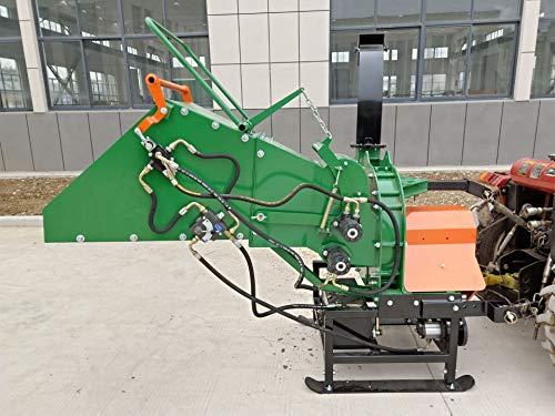 """Samson Machinery WM-8H 8"""" PTO Wood Chipper w/Hydraulic Feed Tractor PTO Driven 200lb Flywheel"""