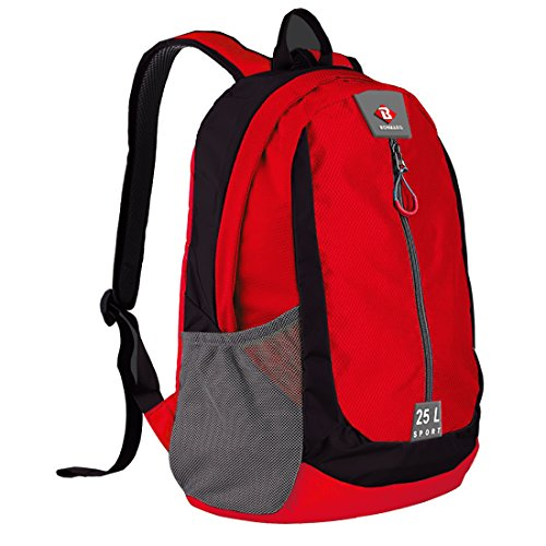 Bonmaro B Sport 25L Red   Black Casual Backpack