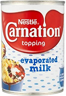 Carnation Topping Evaporated Milk 410 G (pack Of 12)