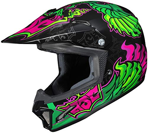 HJC CL-XY YOUTH 2 Eye Fly Mc-4 Size:MED Motorcycle Off-road-helmet