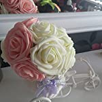 10Pcs-Artificial-Rose-Flowers-Head-Party-Wedding-Bridal-Bouquet-Home-Decoration-Black