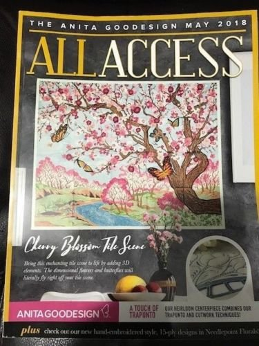 Access VIP Club May 2018 Embroidery Designs CD & Book (Embroidery Multi Formatted Cd)