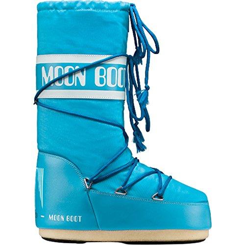 Moon Boot 14004400, Botas de Nieve Unisex Adulto turquesa