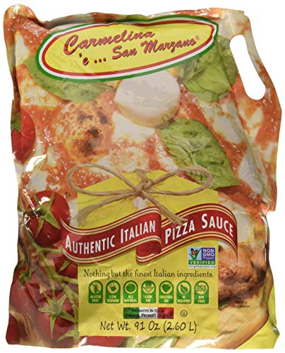Carmelina 'e San Marzano Authentic Italian Sauce, Pizza, 91 Ounce (Pack of - Italian Marzano San Sauce