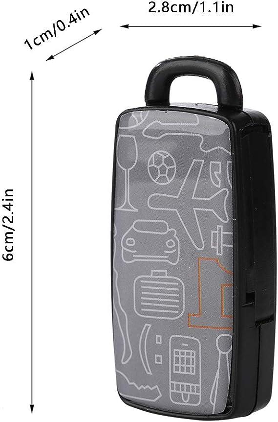 Cercatore chiave del fischio Key Finder cercatore chiave portachiavi elettronico perso del tasto del fischio LED Keychain dellallarme di controllo del suono anti-perso portatile