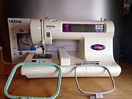 Brother PE40D Disney Embroidery Machine PE40D Amazonca Home New Brother Pe 180d Computerized Embroidery Sewing Machine Disney Edition